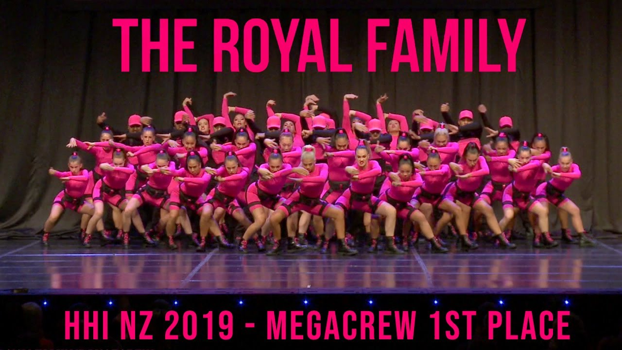 Photo of THE ROYAL FAMILY – HHI NZ MEGACREW 1ST PLACE 2019