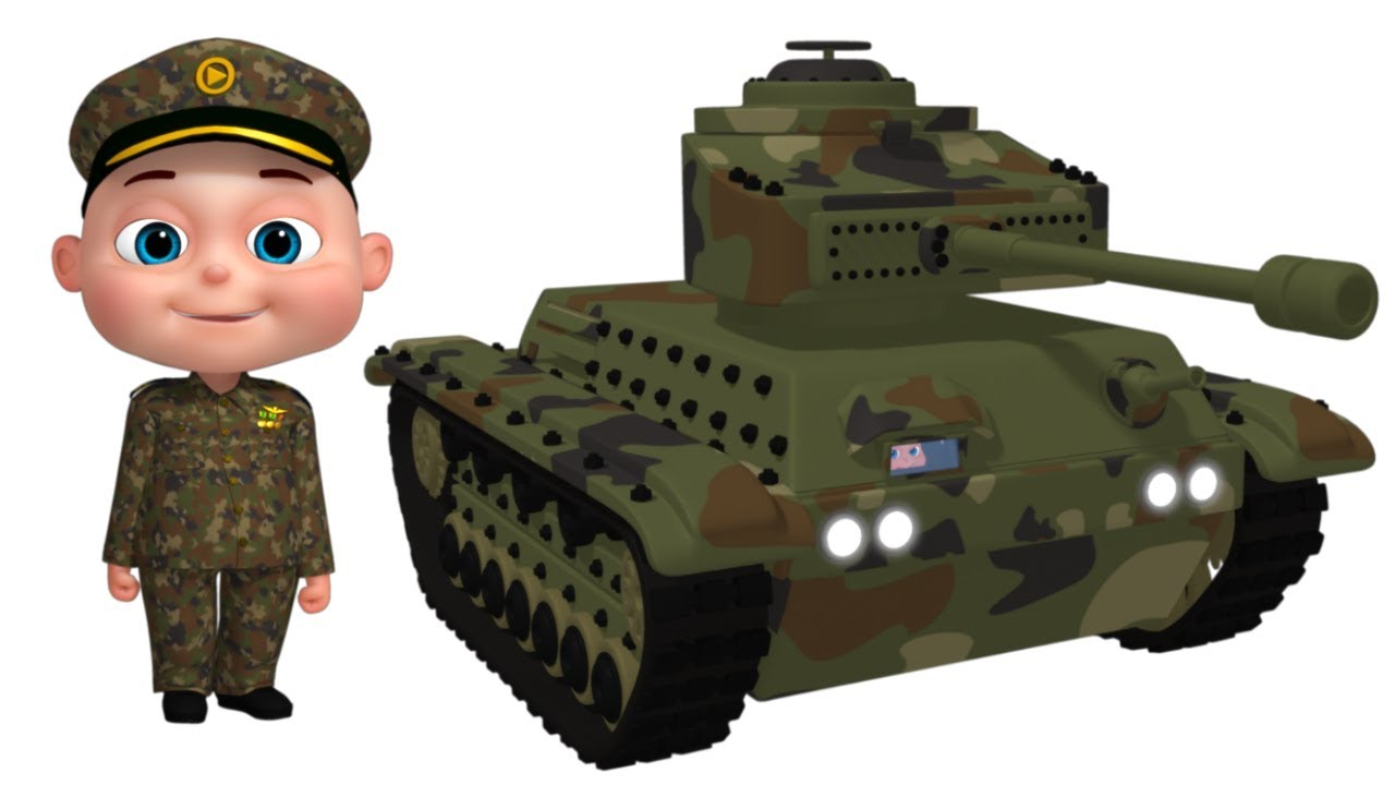 Photo of Military tanker assembly | Cartoon Animation For Kids | Vehicles For Children | Videos For Toddlers