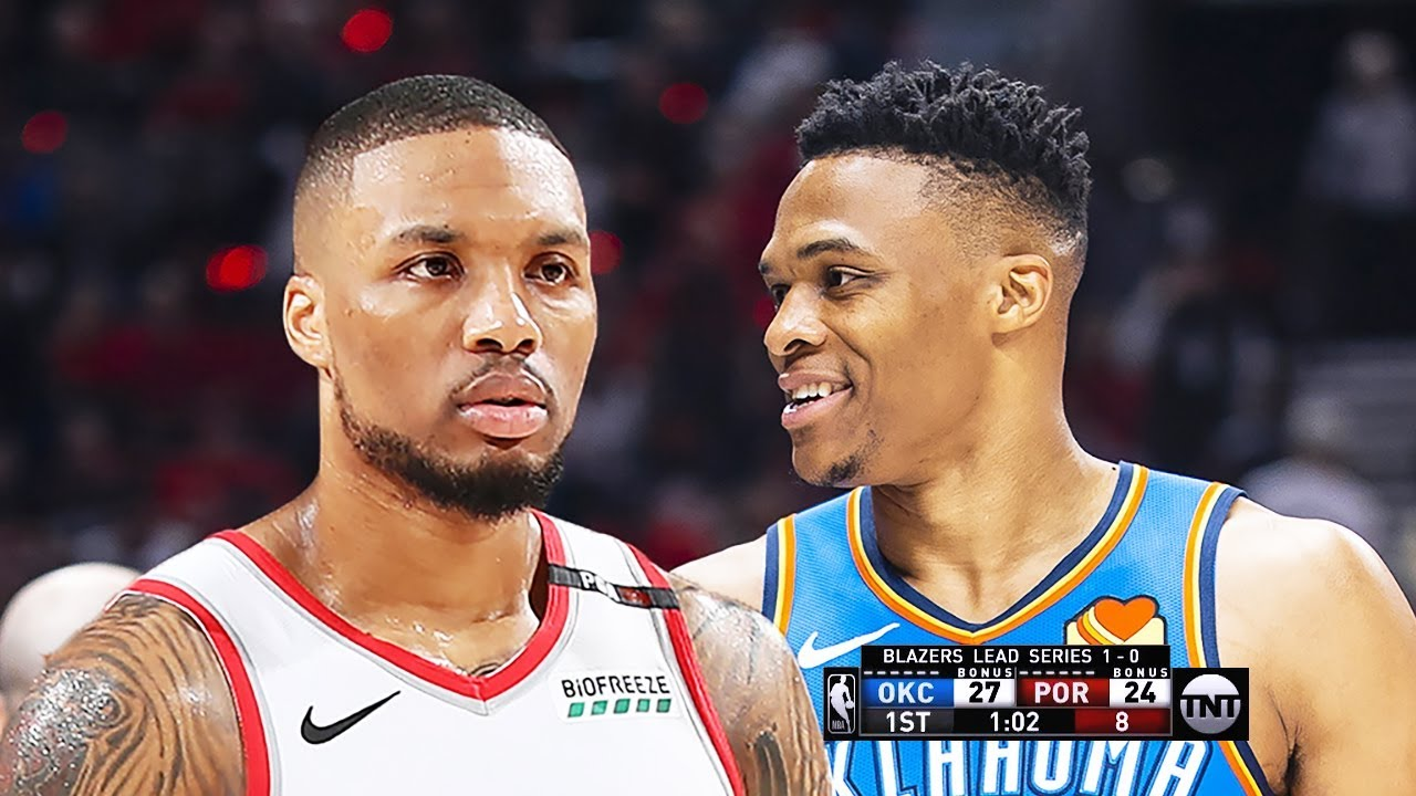 OKC Thunder vs Portland Trail Blazers – Game 2 – Full Game Highlights | 2019 NBA Playoffs