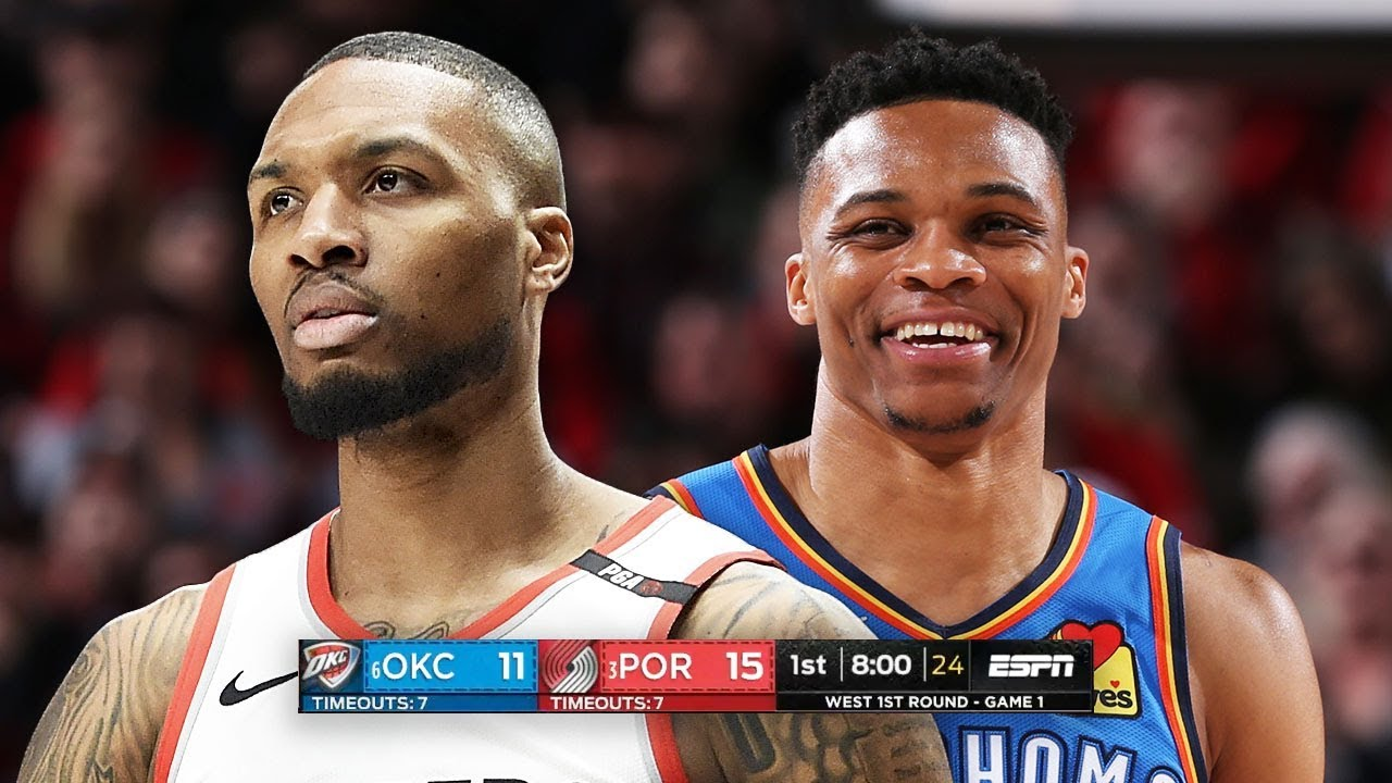 Photo of OKC Thunder vs Portland Trail Blazers – Game 1 – Full Game Highlights | 2019 NBA Playoffs