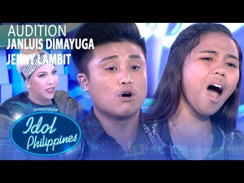 Photo of Janluis Dimayuga and Jenny Lambit | Idol Philippines 2019 Auditions