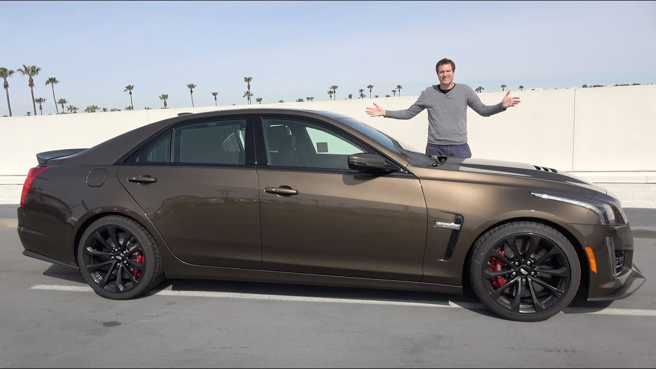 Photo of The 2019 Cadillac CTS-V Is a Crazy Fast Luxury Sedan
