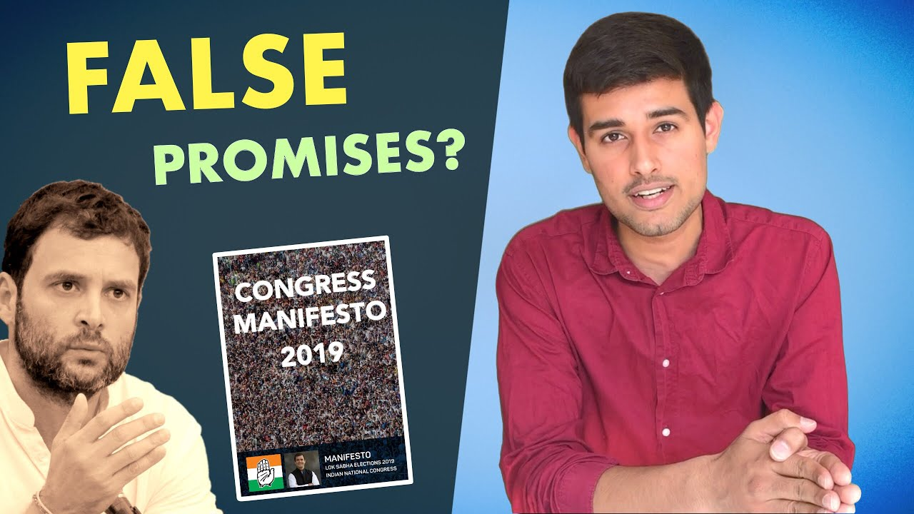 Photo of Congress Manifesto for 2019 Elections | Analysis by Dhruv Rathee