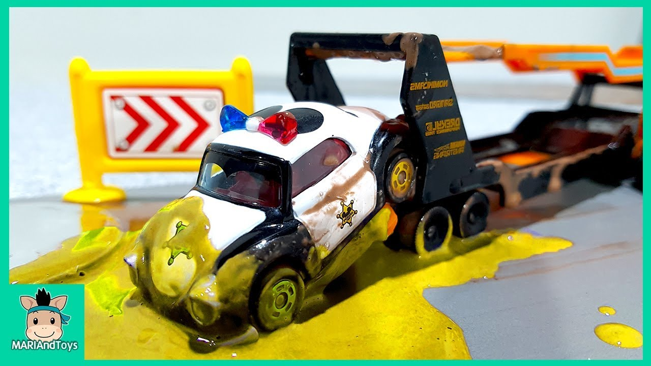 Photo of Cars toys videos for kids. Disney CARS3 McQueen rescue for children Learn Colors Play | MariAndToys