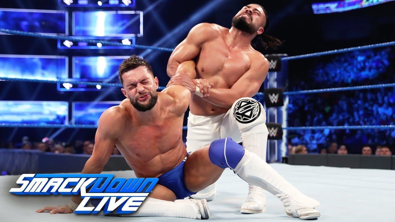 Finn Bálor vs. Andrade: SmackDown LIVE, April 23, 2019