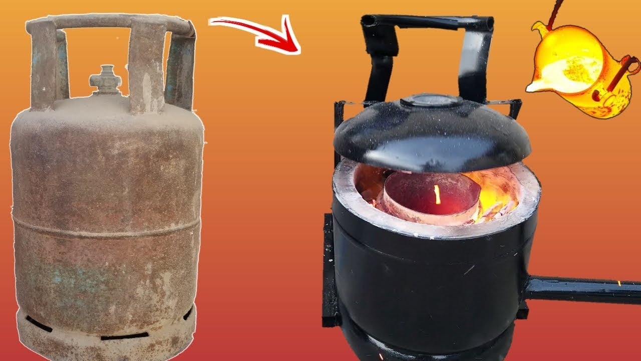 Photo of How to Make a Simple Metal Foundry Using Empty Gas Cylinder
