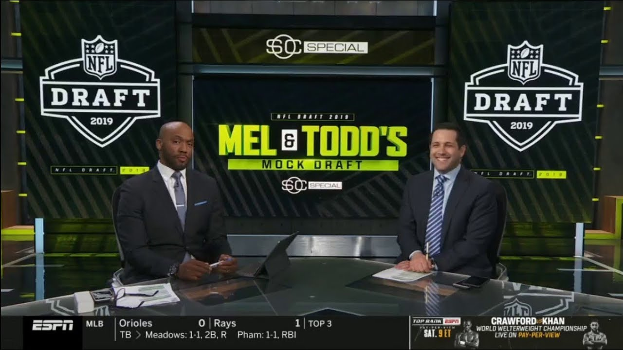 Photo of SportsCenter Special | Mel and Todd's Mock Draft – NFL Mock Draft Live 04/18/2019
