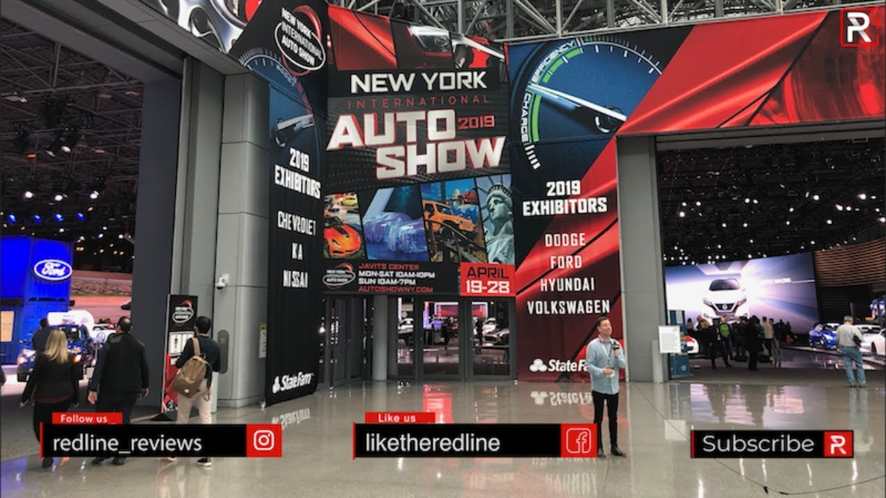 Photo of 2019 New York Auto Show Tour With Redline Reviews