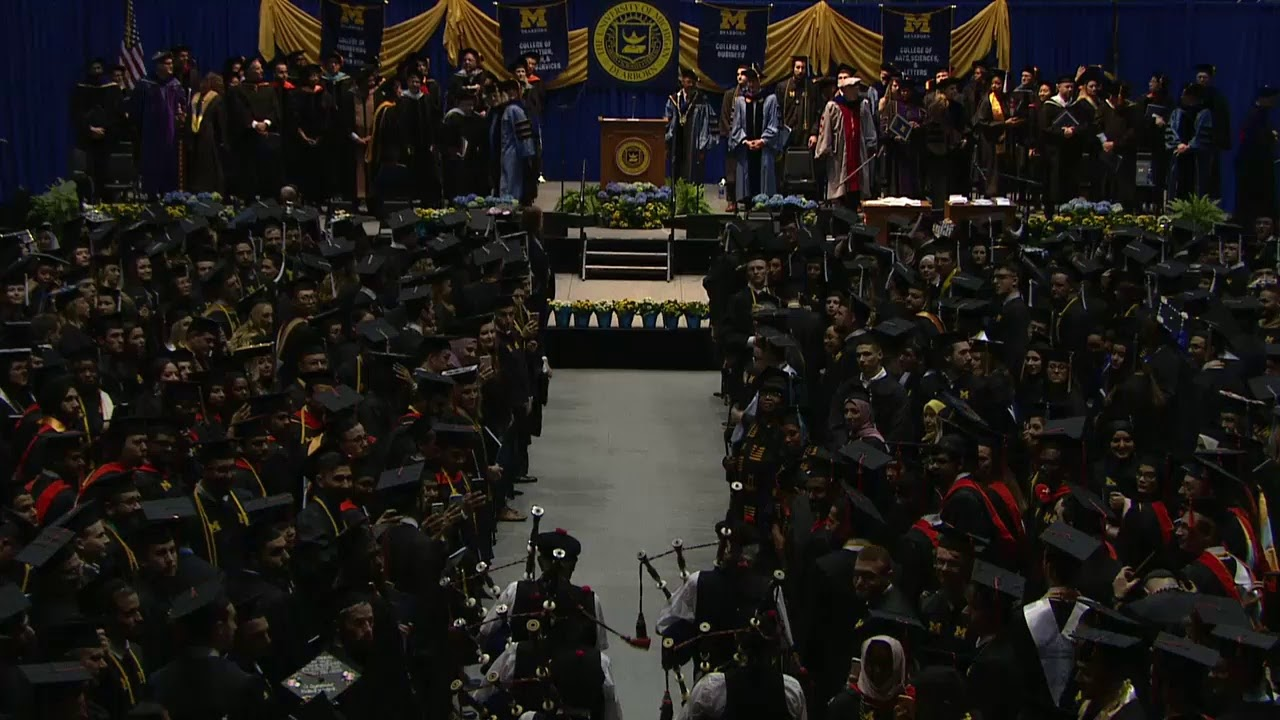 Photo of 2019 Commencement Ceremony – University of Michigan Dearborn