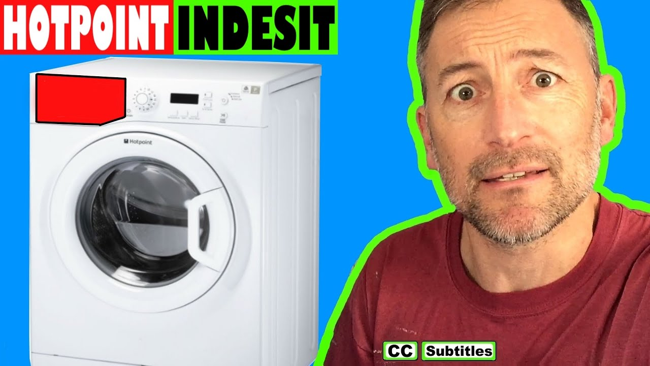 Photo of How to remove dispenser drawer from Hotpoint Washing Machine