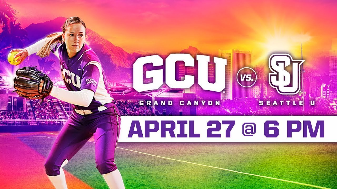 Photo of GCU Softball vs. Seattle U April 27, 2019