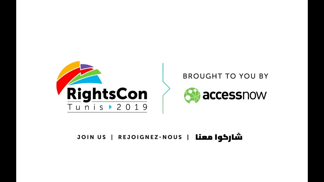 Photo of Join us for RightsCon Tunis 2019