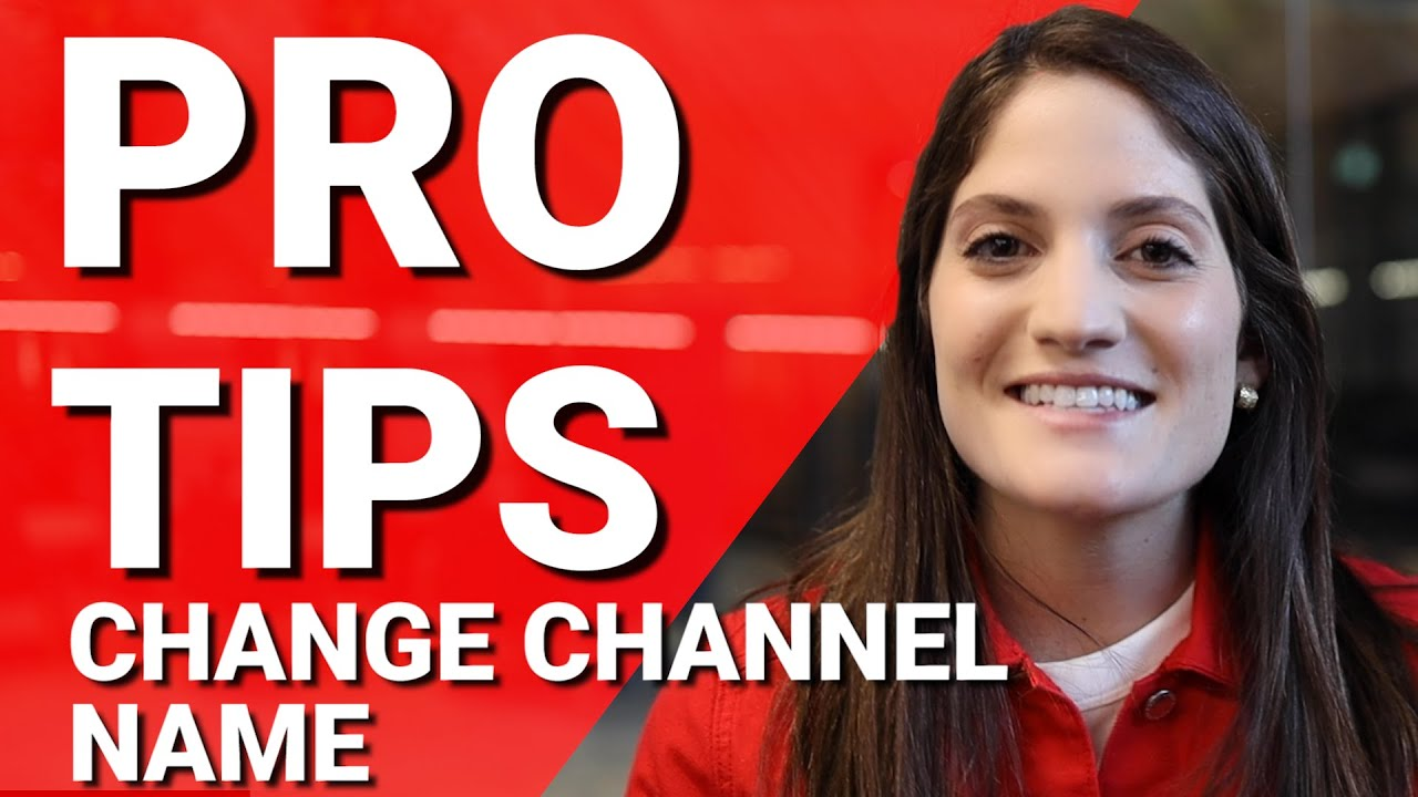 Photo of How to change your channel name | Pro Tips from TeamYouTube