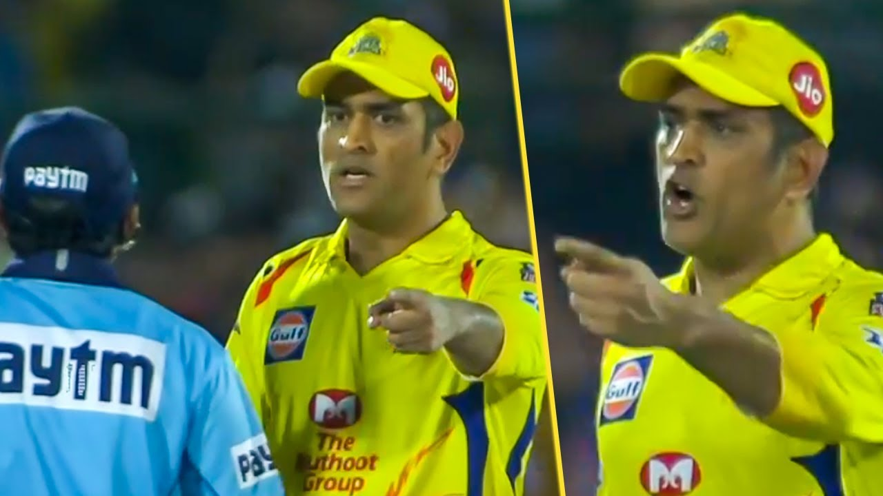 Photo of MS Dhoni lost his cool & Fight With Umpire | CSK Vs RR Hilghlights | IPL 2019