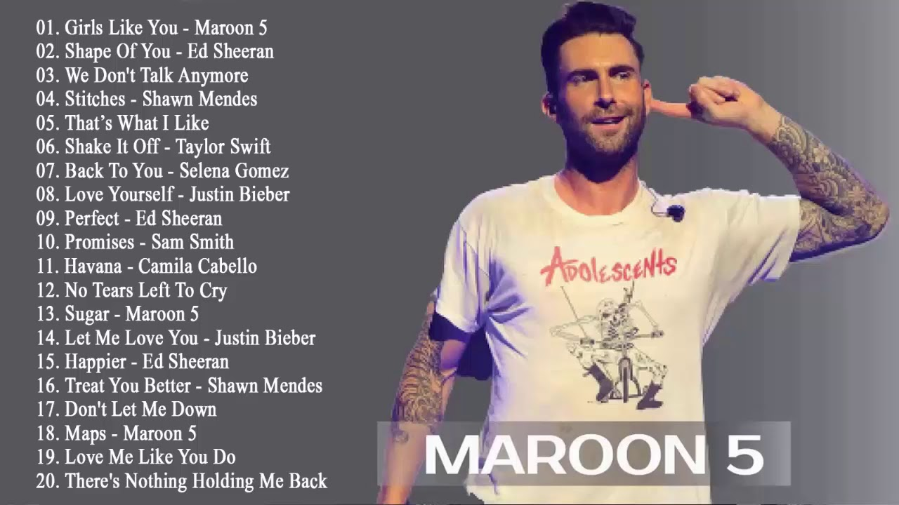 Photo of Pop 2019 Hits – Maroon 5, Taylor Swift, Ed Sheeran, Adele, Shawn Mendes, Charlie Puth, Sam Smith
