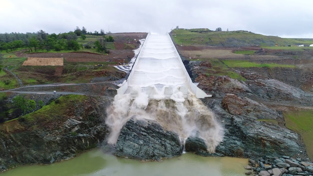 Photo of OROVILLE SPILLWAYS UPDATE April 2, 2019