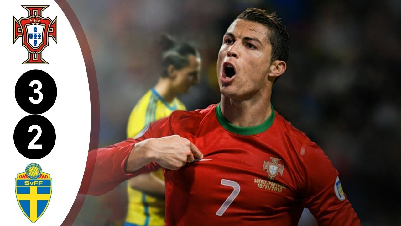 Photo of Portugal vs Sweden 3-2  FIFA World Cup Qualification 2014  Full Highlights HD