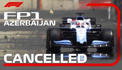 George Russell's Drain Cover Incident Ends FP1 | 2019 Azerbaijan Grand Prix