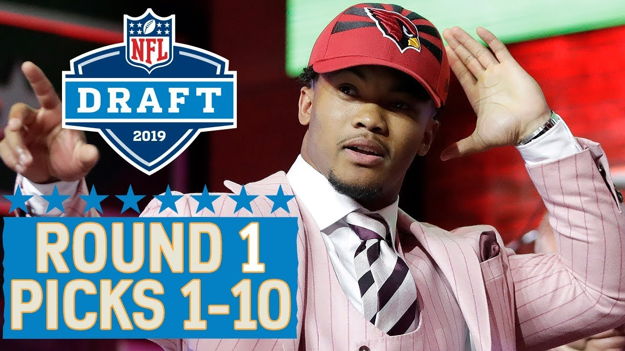 Photo of Picks 1-10: Multiple QBs, a Top 10 Trade & More!   2019 NFL Draft