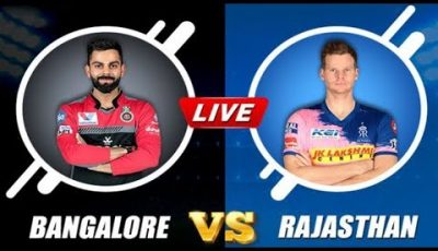 LIVE IPL 2019: RCB VS RR 49th IPL Match Live Streaming – Ashes Cricket Gameplay | IPL LIVE Score