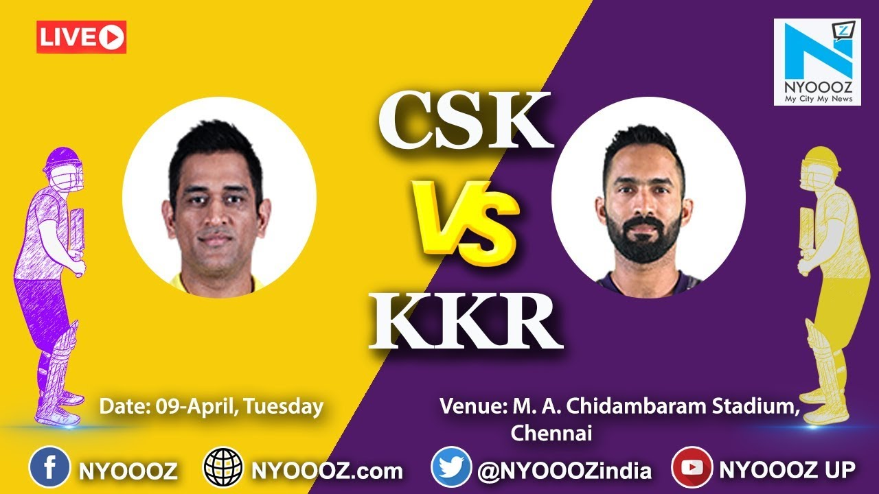 Photo of Live IPL 2019 Match 23 Discussion: CSK  vs KKR | Chennai Super Kings Vs Kolkata Knight Riders