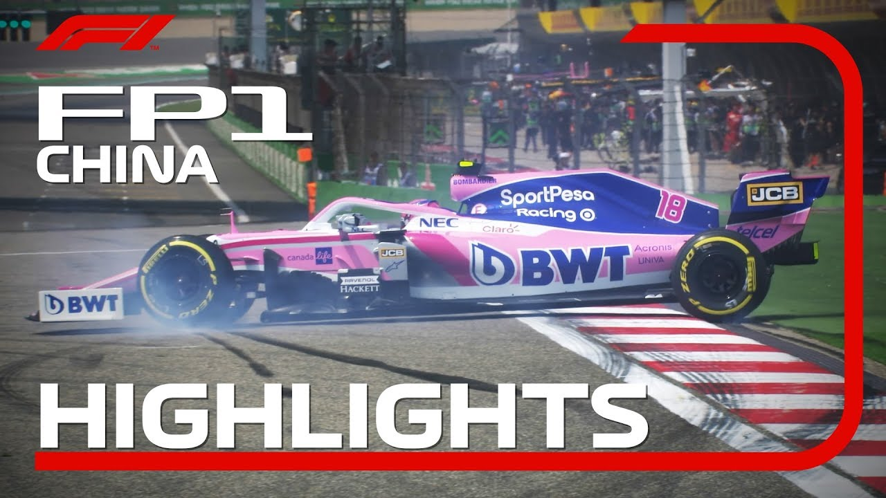 Photo of 2019 Chinese Grand Prix: FP1 Highlights