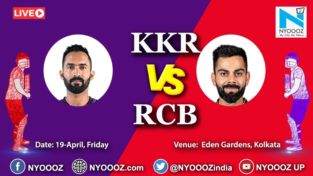 Photo of Live IPL 2019 Match 35 Discussion: RCB vs KKR | Royal Challangers bangalore Won By 10 Runs.