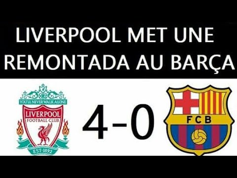 Photo of But match LIVERPOOL VS BARCELONE 4-0 ملخص مبارة LIVERPOOL VS BARCELONE
