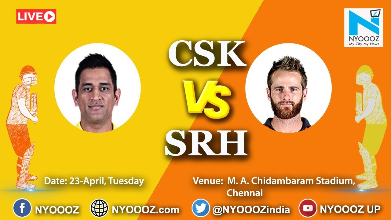 Photo of Live IPL 2019 Match 41 Discussion: CSK vs SRH | Target For Chennai Super Kings Is – 176