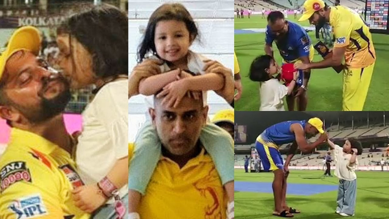 Photo of Ziva Dhoni Videos With CSK Players | IPL 2019 | MS Dhoni Daughter