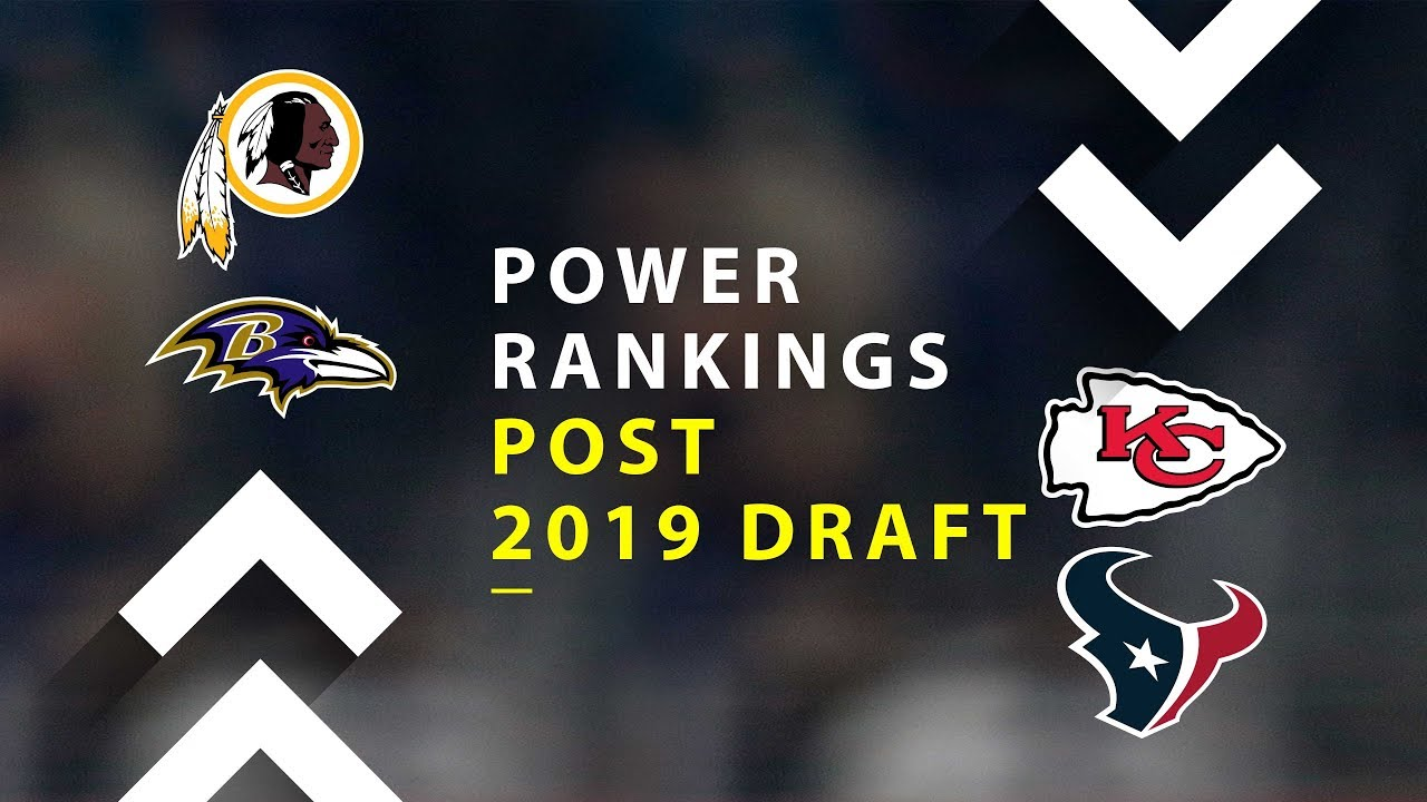 Photo of Post 2019 NFL Draft Power Rankings!