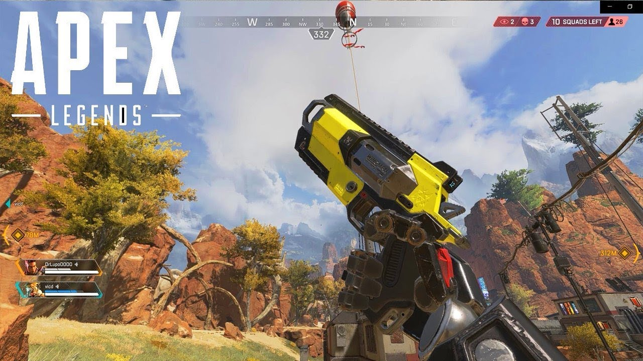 Photo of THE BEST BATTLE ROYALE GAME YET!!! | Apex Legends Wraith Gameplay