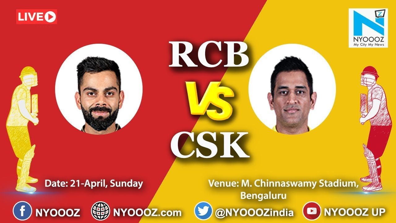 Photo of Live IPL 2019 Match 39 Discussion: RCB vs CSK | Royal Challangers Bangalore vs Chennai Super Kings
