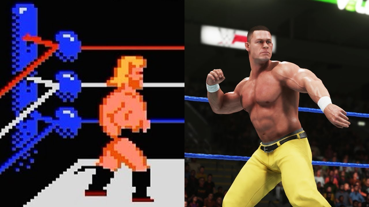 Photo of Evolution Of WWE Games