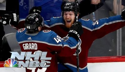 NHL Stanley Cup Playoffs 2019: Sharks vs. Avalanche | Game 6 Highlights | NBC Sports
