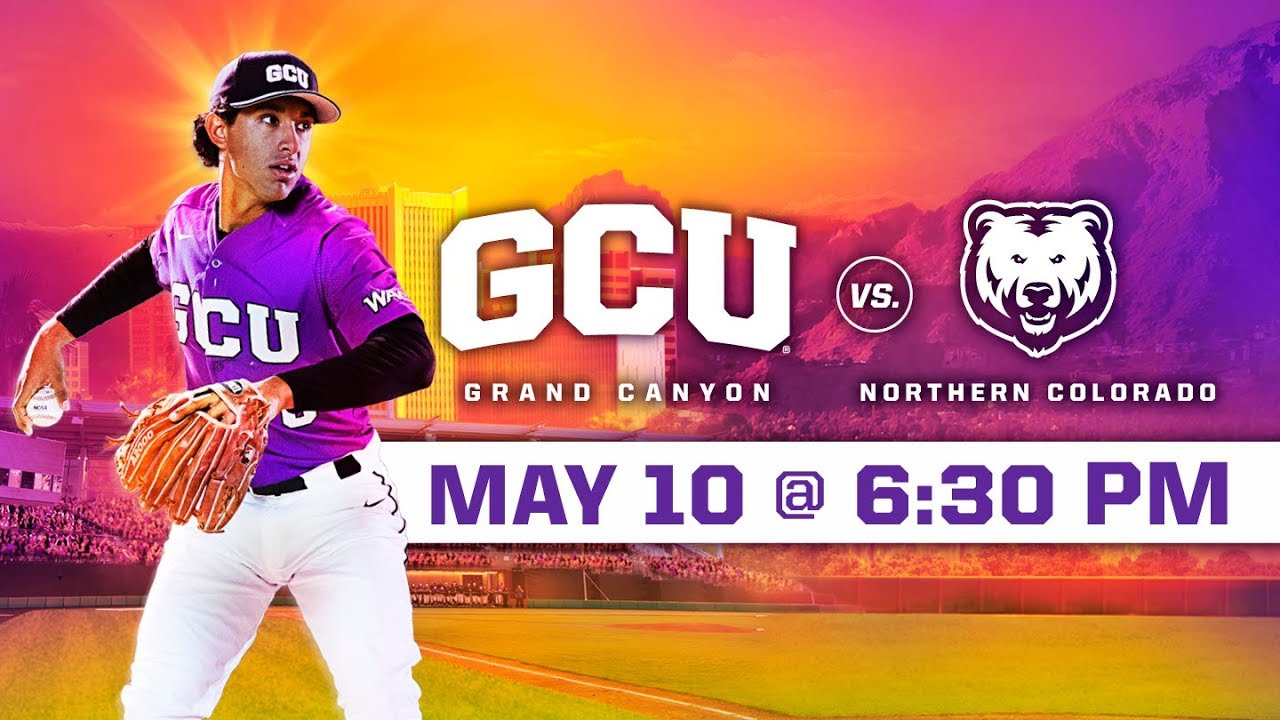 Photo of GCU Baseball vs. Northern Colorado May 10, 2019