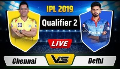 LIVE IPL 2019: CSK VS DC 2nd Qualifier Match IPL Live Stream | LIVE Score And Commentary |Ashes Cric