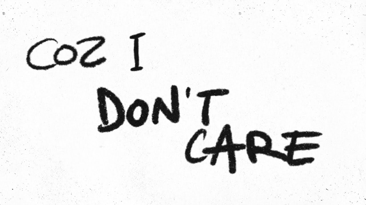 Photo of Ed Sheeran & Justin Bieber – I Don't Care [Official Lyric Video]