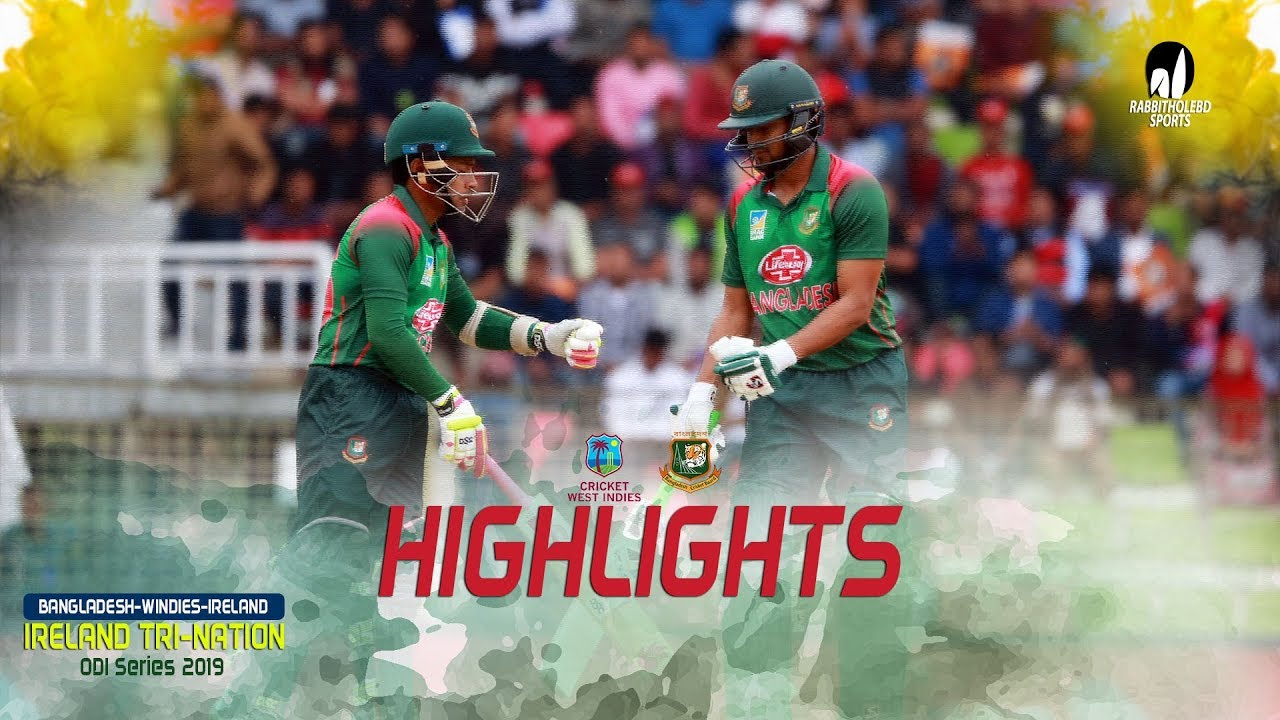 Photo of Highlights Windies vs Bangladesh || 2nd Match || ODI Series || Tri-Series 2019