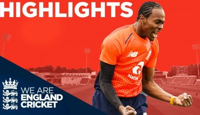 Archer & Morgan Shine For Hosts | England v Pakistan Only IT20 2019 – Highlights