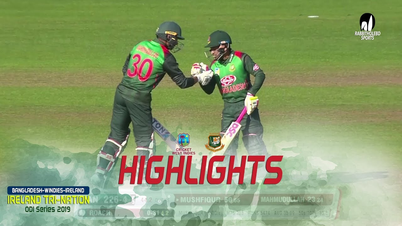 Photo of Highlights Windies vs Bangladesh || 5th Match || ODI Series || Tri-Series 2019