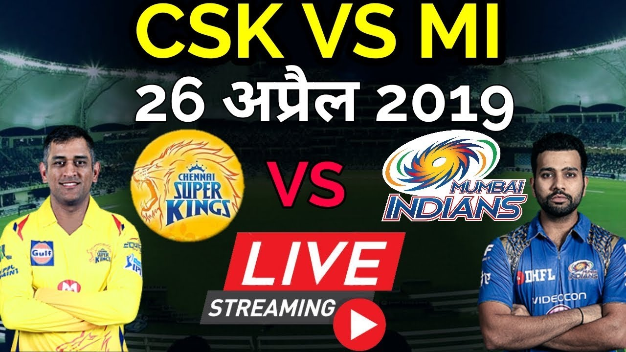 Photo of LIVE – IPL 2019 Live Score, CSK vs MI Live Cricket match highlights today
