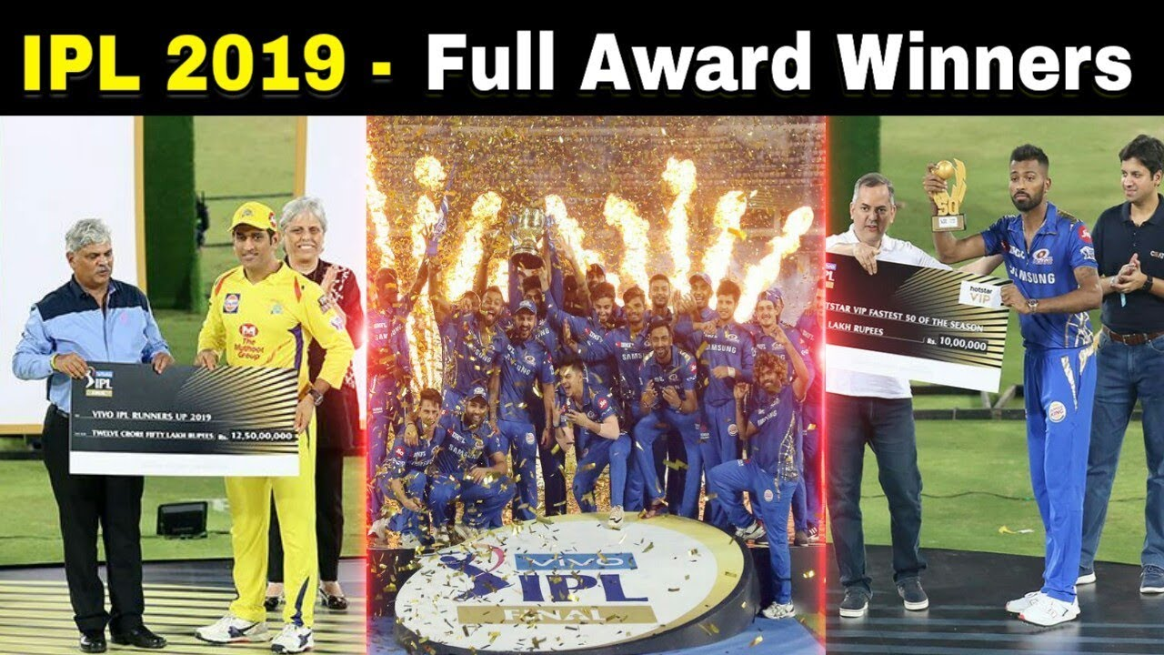 Photo of IPL 2019 – Full Award Winners | MI vs CSK IPL 2019 Finals
