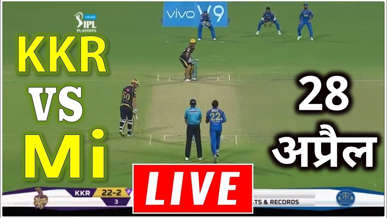 Photo of LIVE – IPL 2019 Live Score, KKR vs MI Live Cricket match highlights today