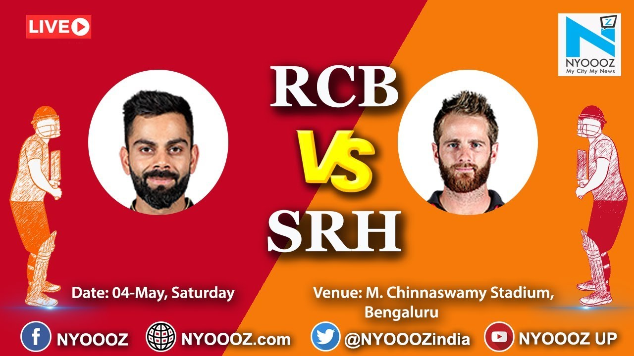 Photo of Live IPL 2019 Match 54 Discussion: RCB vs SRH | Royal Challangers Bangalore Won By 4 Wickets