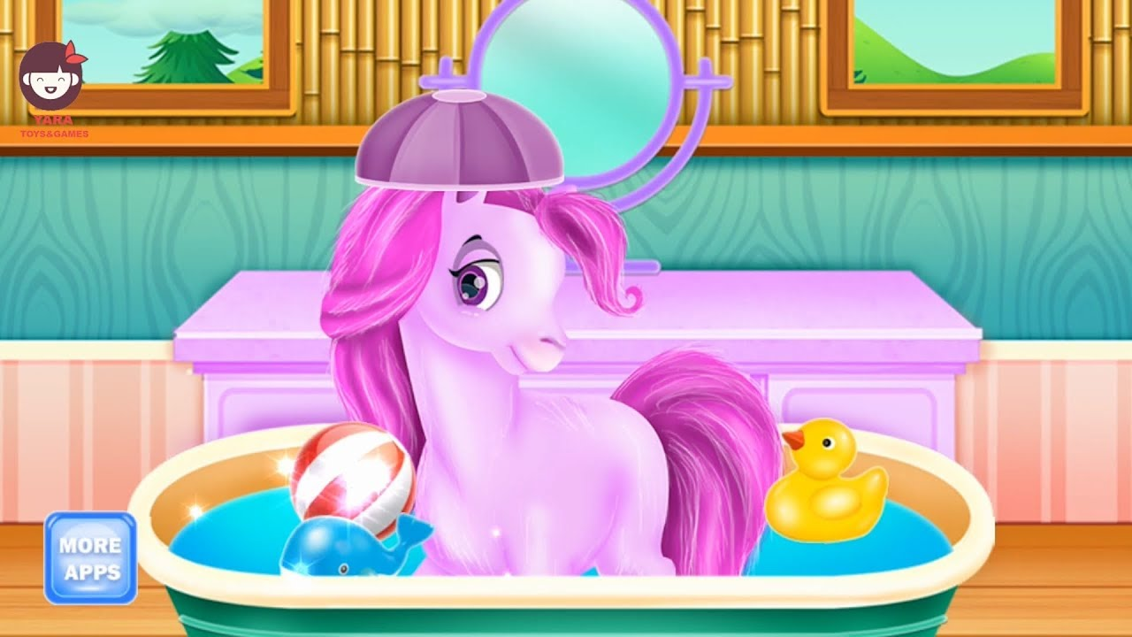 Photo of Animals hair & beauty salon, Pony – Kids & Girls Games | العاب بنات – العاب اطفال