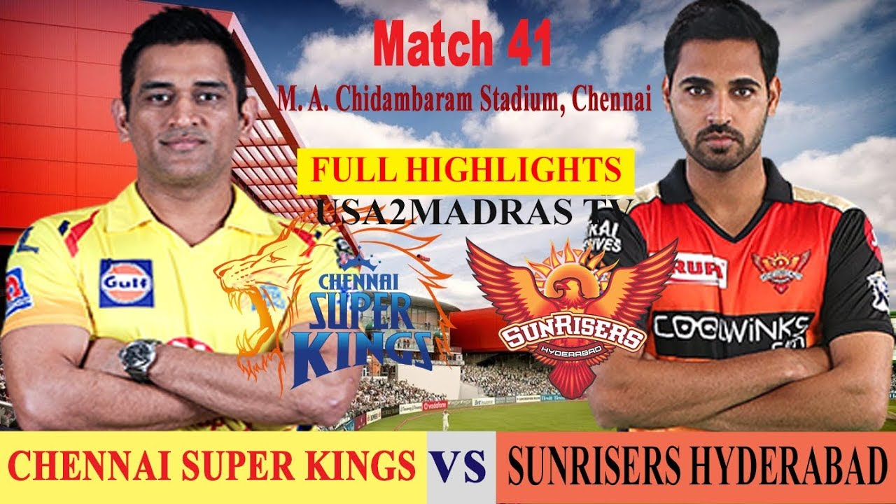 Photo of CSK vs SRH | Full Highlights | IPL 2019 | Match 41 | IPL | SRH VS CSK | CHENNAI VS HYDERABAD 23 Apr