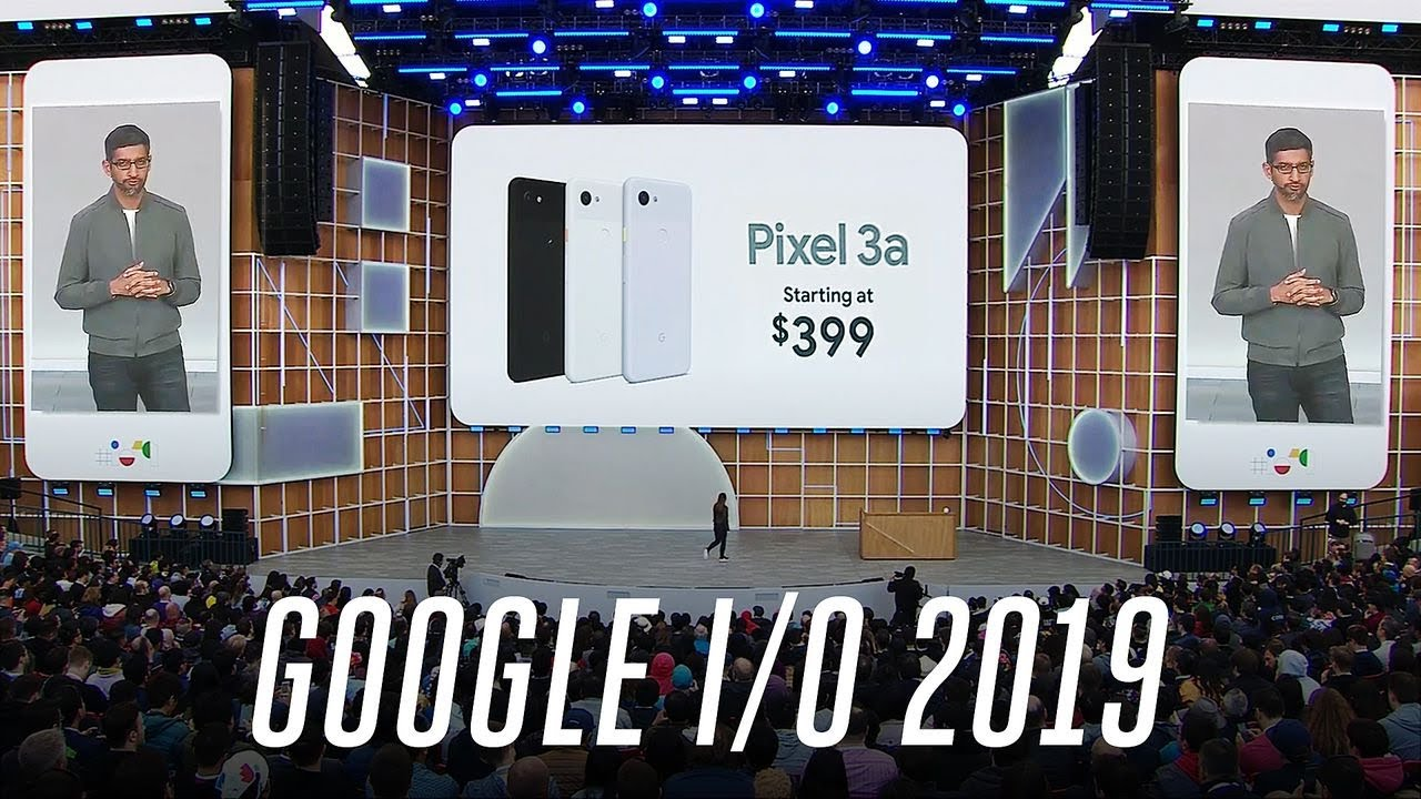 Photo of Google I/O 2019 event in 13 minutes