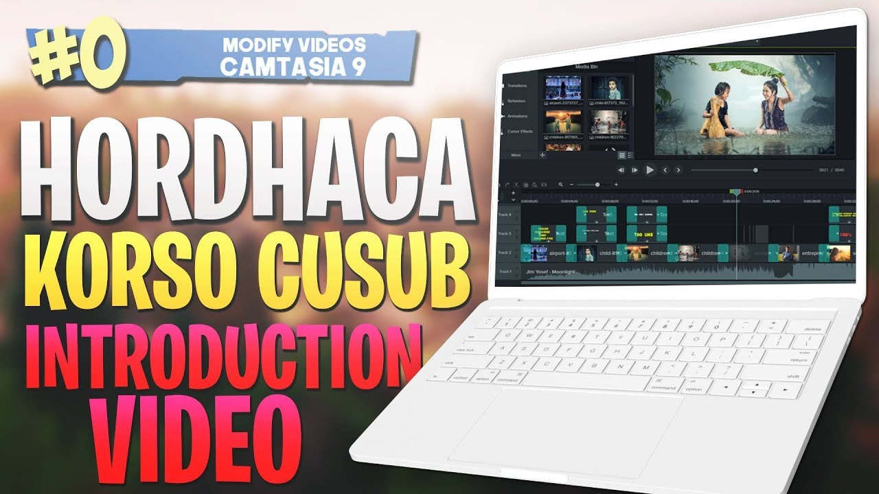 Photo of #0 Hordhaca Korso Cusub |Introduction| Camtasia Studio 9 Video Editing 2019