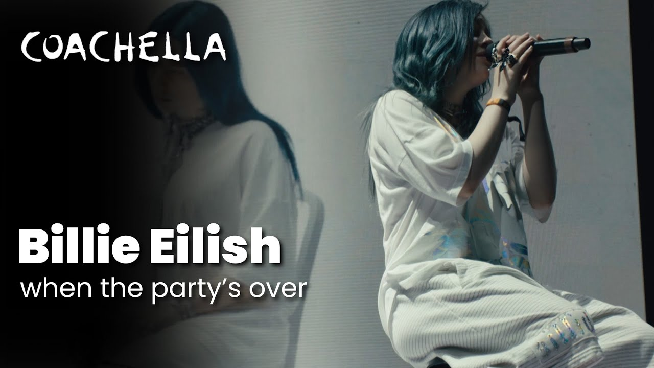 Photo of Billie Eilish – when the party's over – Live at Coachella 2019 Saturday April 13, 2019 (2.35:1)